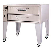 Bakers Pride 451 Single Deck Gas Commercial Pizza Oven