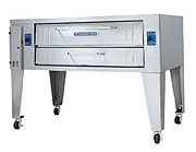 Bakers Pride Y-600 Single Deck Natural Gas Commercial Pizza Oven