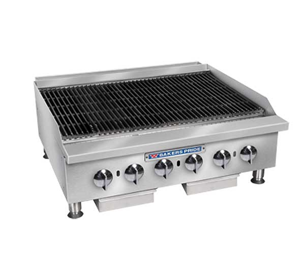 Bakers Pride Charbroiler gas - BPHCB-2436I