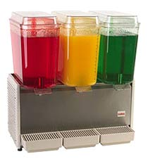 Crathco Triple Head Chilled Beverage Machine