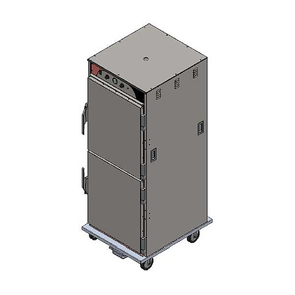 BevLes Climate Select Humidity Controlled Heated Holding Cabinet Mobile Full Height - HCSS74W121