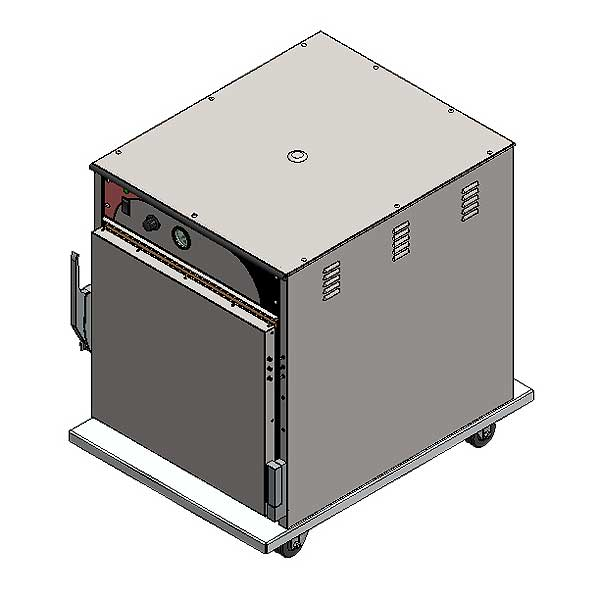 BevLes Temper Select Heated Holding Cabinet Mobile Undercounter Models
