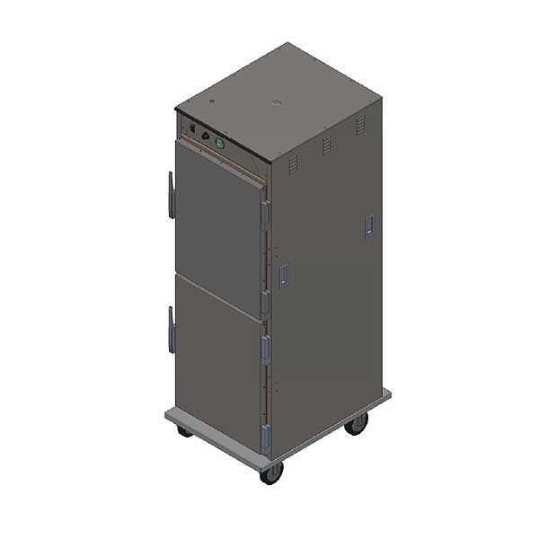 BevLes Temper Select Humidity Controlled Heated Holding Cabinet Mobile Full Height - HTSS74P161