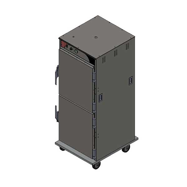BevLes Temper Select Humidity Controlled Heated Holding Cabinet Mobile Full Height - HTSS74W124