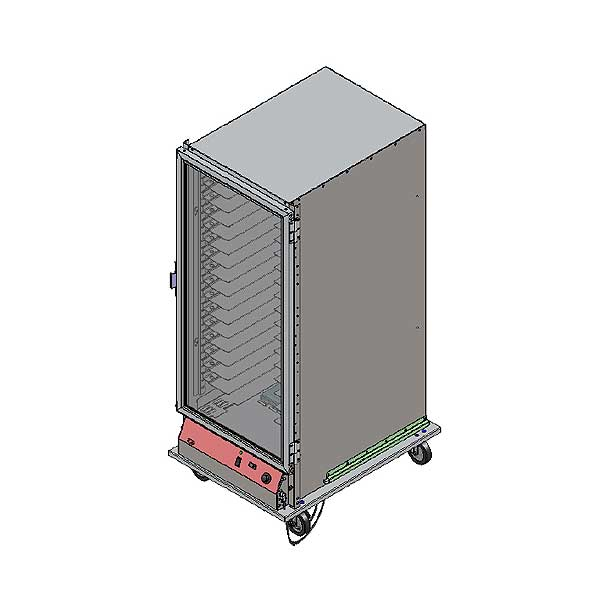 BevLes Extra Deep Proofing Cabinet Mobile Full Height Non-Insulated Models