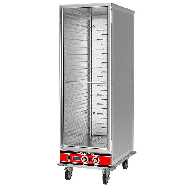 BevLes Heated Proofer & Holding Cabinet Mobile Full Height - HPIC-6836