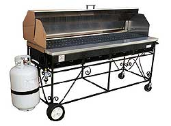 Big John A4CC Gas Grill Package With Hood