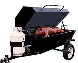 Big John E-Z Way Towable Roaster/Smoker