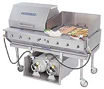 Bakers Pride Outdoor Charbroiler - Complete Package CBBQ-60S-CP