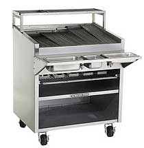 Bakers Pride Floor Gas Charbroiler F-36R