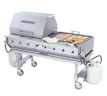 Bakers Pride Outdoor Charbroiler CBBQ-60S