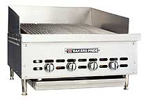Bakers Pride Low Profile Charbroiler XXE Series