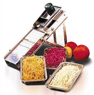 Stainless Steel Bron Coucke Mandoline Slicer Cutter Shredder