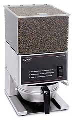 Bunn Low Profile Portion Control Coffee Grinder with 1 Hopper - 20580.0001