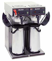 Bunn Twin Airpot Coffee Brewer