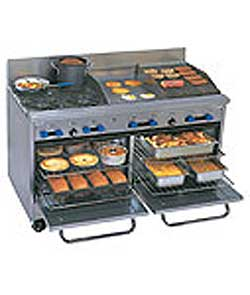 Comstock Castle 48 Inch Gas, Range,(2)- 19.5 Inch wide oven F3218