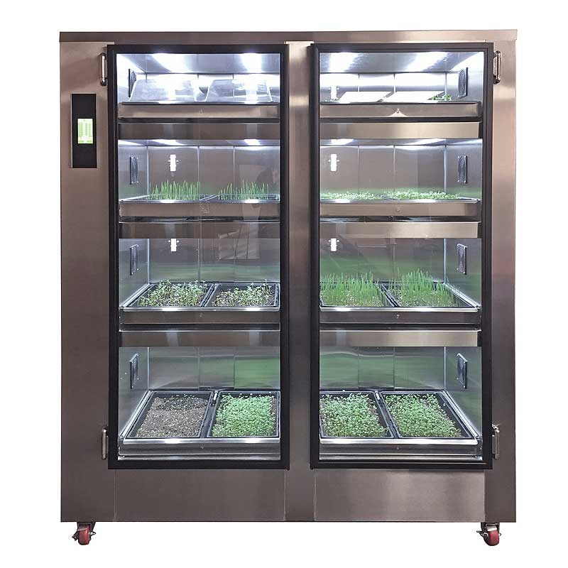 Carter-Hoffmann Gardenchef Undercounter Herb & Microgreen Growing Cabinet For Herbs and Greens - GC11