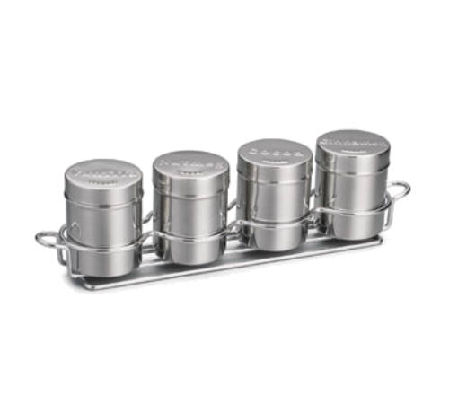 Coffee Shaker Set with Rack