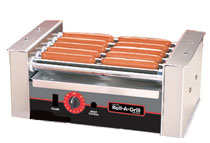 Nemco 8010 Connolly Hot Dog Roll-a-Grill