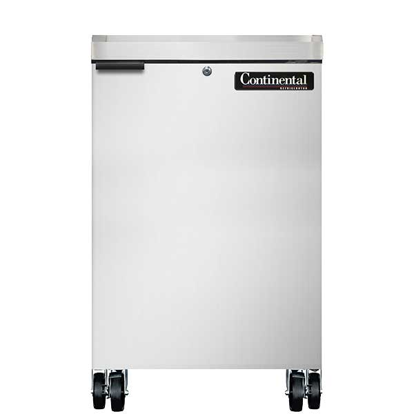"Continental Backbar Cooler 24"" Wide - BB24NSS"