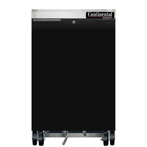 """Continental Refrigerated Back Bar Cooler 24""""W 38-13/16""""H - BB24N"""
