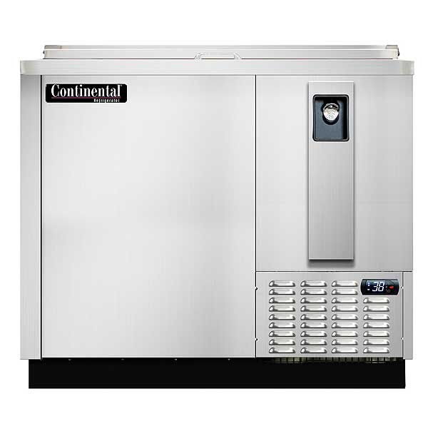 Continental Bottle Cooler, Stainless Steel, 37 Inches Wide - CBC37-SS