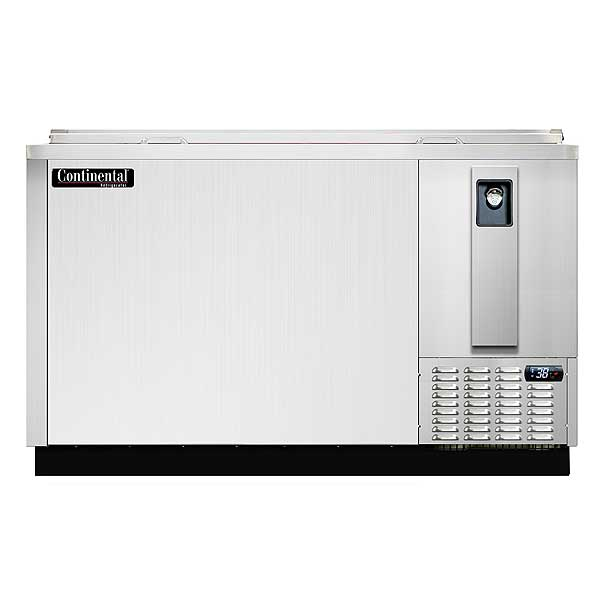 Continental Bottle Cooler, Stainless Steel, 64 Inches Wide - CBC64-SS