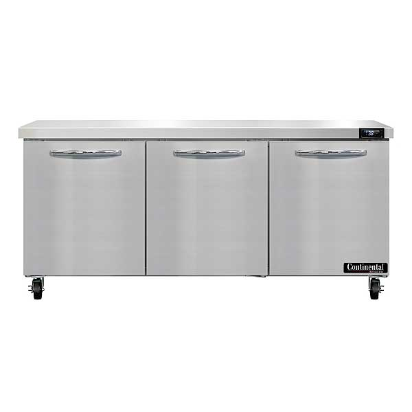 "Continental Work Top Refrigerator 72""  - SW72 - SW72N"