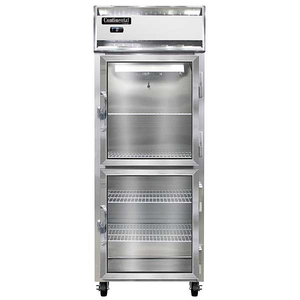 "Continental Extra-Wide Freezer Reach-in 28-1/2""W - 1FENSSGDHD"