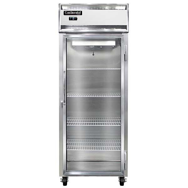 "Continental Extra-Wide Freezer Reach-in 28-1/2""W - 1FENSSGD"