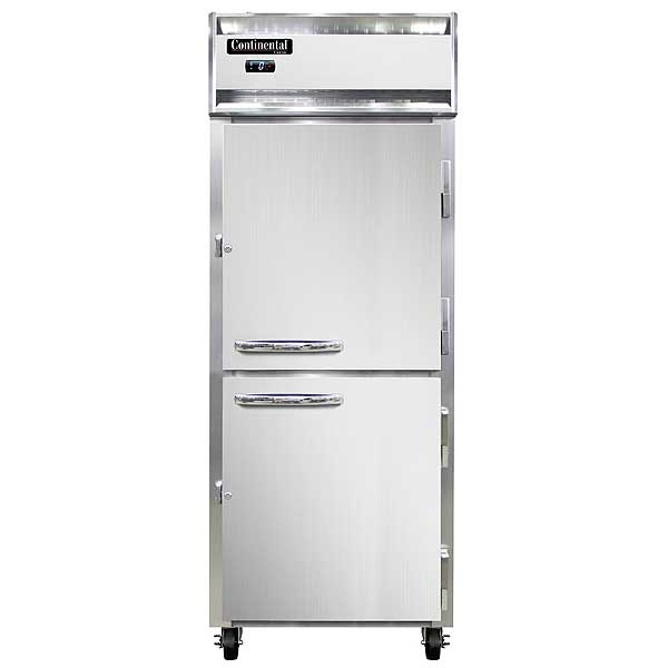 "Continental Extra-Wide Freezer Reach-in 28-1/2""W - 1FENSAHD"