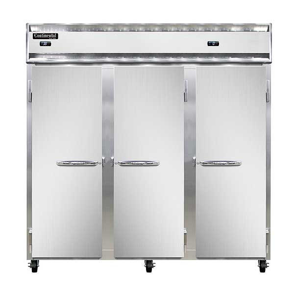 Continental Refrigerator/Freezer Reach-in Three-section - 3RRF-SA