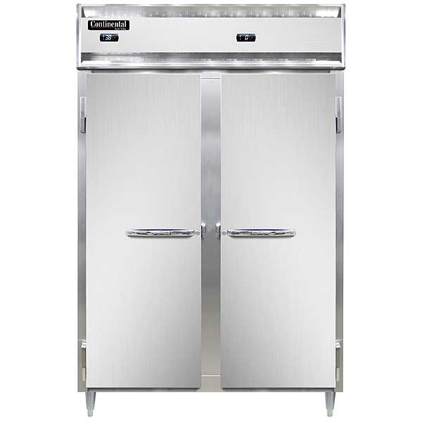 Continental Designer Line Refrigerator/Freezer Reach-in Two-section - DL2RF