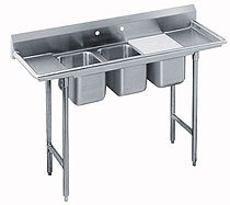 Advance Tabco 72 Inch Convenience Store Sink