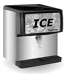 Scotsman 200 Lbs Countertop Ice Dispenser
