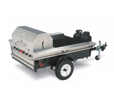 The Tailgate Towable Grill from Crown Verity