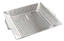 Stainless Perforated Wok Grill Topper Plate
