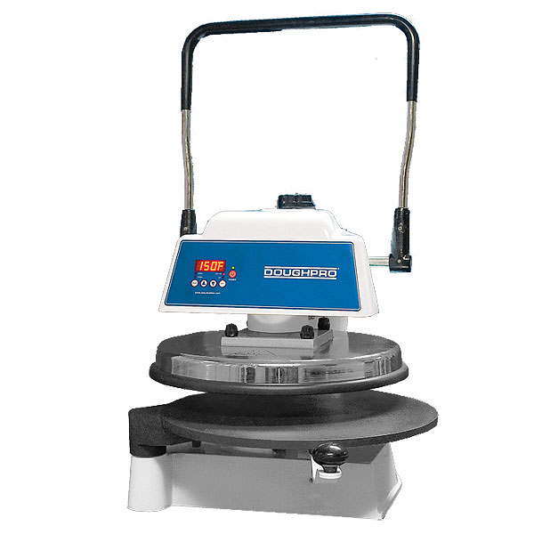 DOUGHPRO Pizza Press - Countertop Model, Manual Operation - DP1100
