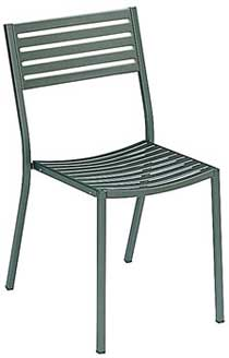 EMU Segno Stacking Chair Style 268, Set of 4
