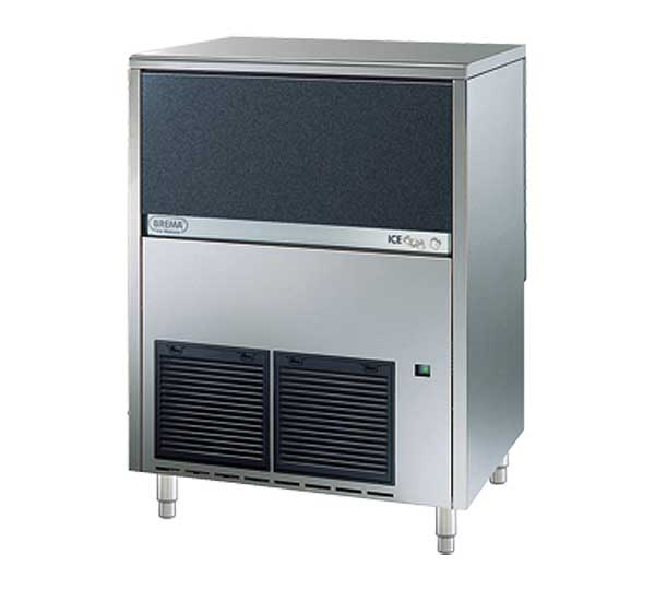 Eurodib Brema Undercounter Ice Maker with Bin Cube Style Air-cooled - CB674A