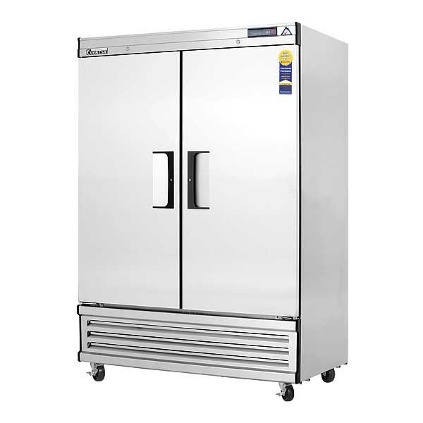 """Everest Reach-In Freezer Two-section 49-5/8""""W - EBSF2"""