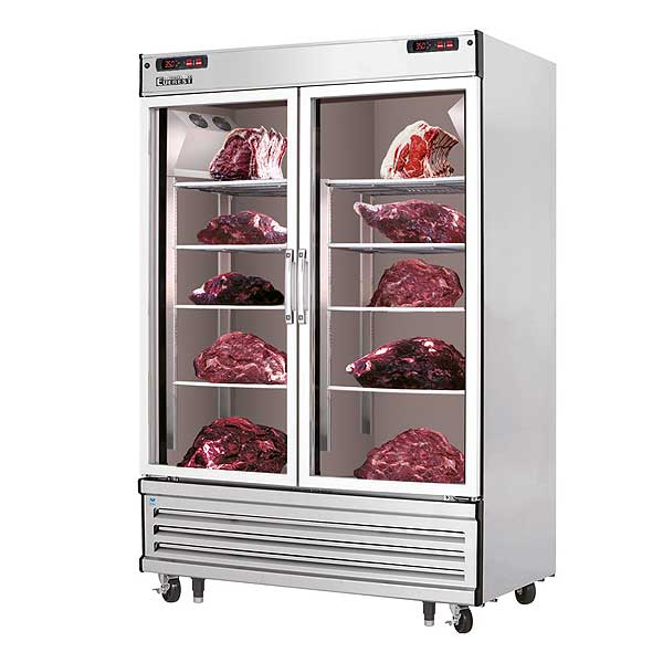 """Everest Meat Aging & Thawing Cabinet Two-section 54-1/8""""W - EDA2"""