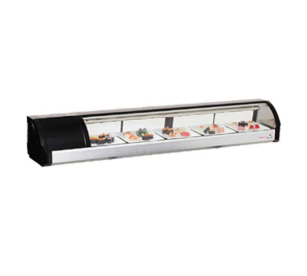 """Everest Refrigerated Display Case Countertop 71""""W - ESC71L"""