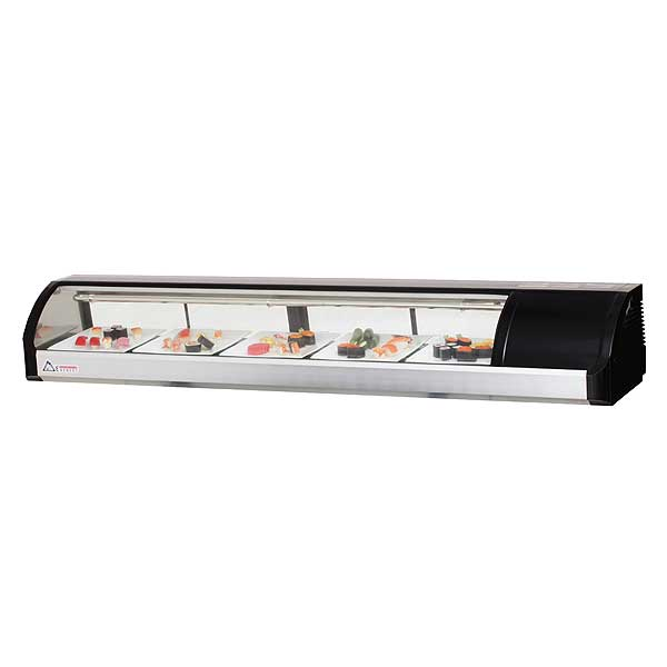 "Everest Refrigerated Display Case Countertop 71""W - ESC71R"
