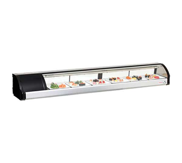 "Everest Refrigerated Display Case Countertop 82-5/8""W - ESC83L"