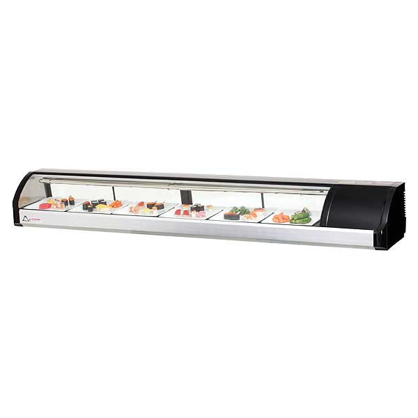 """Everest Refrigerated Display Case Countertop 82-5/8""""W - ESC83R"""