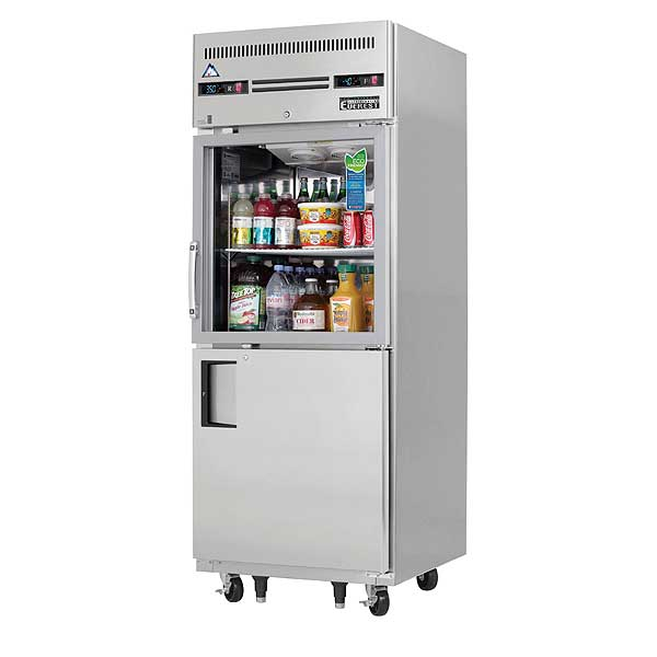 """Everest Reach-In Dual Temperature Refrigerator/Freezer Combo One-section 29-1/4""""W - EGSDH2"""