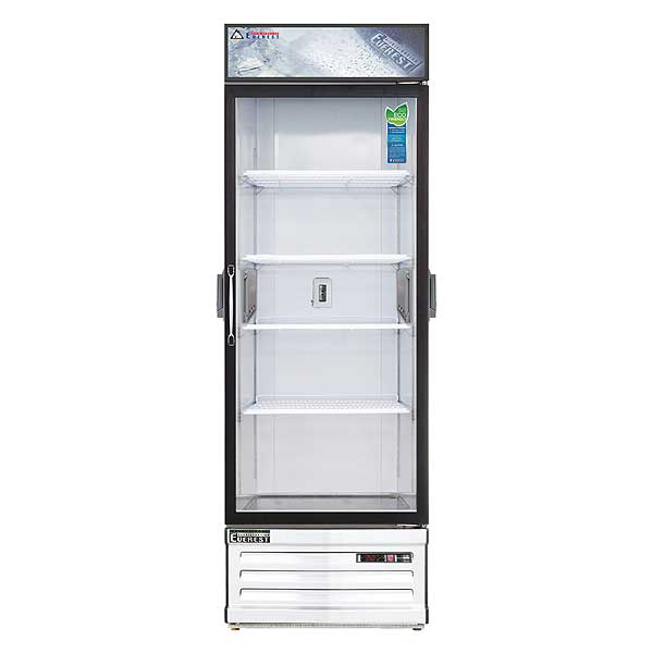 """Everest Reach-In Glass Door Chromatography Refrigerator One-section 28-3/8""""W - EMGR24C"""