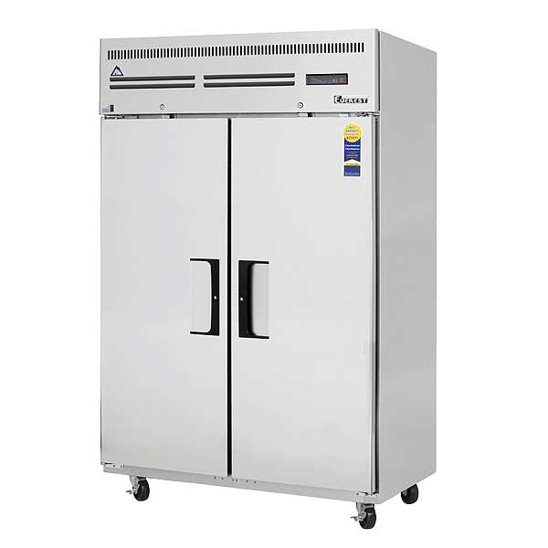 """Everest Reach-In Freezer Two-section 49-5/8""""W - ESF2"""