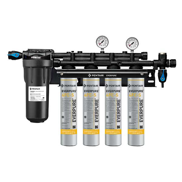 Everpure Insurice Quad PF-4FC-S Water Filter System - EV932744